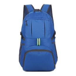 black folding phone 2019 - 1PC New Backpack For Women Man Lightweight Adjustable Packable Rucksack Durable Travel Hiking Backpack Travel Folding Ba