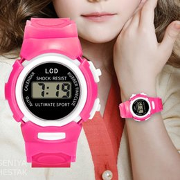 $enCountryForm.capitalKeyWord Australia - kids watches Girls Analog Digital Sport LED Electronic Waterproof Wrist Watch New kids watches montre enfant