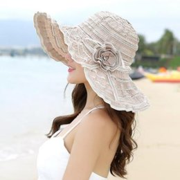 hot spring covers Australia - 2019 new hot casual personality sun shade ladies summer seaside travel wild sun cover face summer hat beach Korean sunscreen straw hat