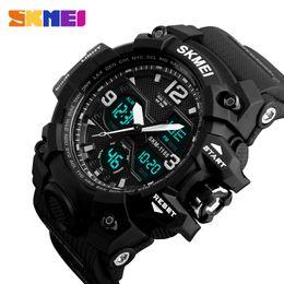 $enCountryForm.capitalKeyWord Australia - Skmei New Fashion Men Sports Watches Men Quartz Analog Led Digital Clock Man Military Waterproof Watch Relogio Masculino 1155b GMX190711