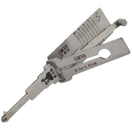 Sell Tools UK - Hot Selling Original LISHI GM39 2 in 1 Auto Lock Pick and Decoder Locksmith Tools for GM Buick