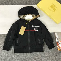 $enCountryForm.capitalKeyWord Australia - designer jacket kids Children clothing autumn boys and girls classic double-faced jacket solid color + check