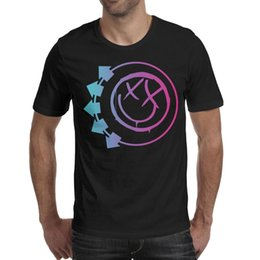 $enCountryForm.capitalKeyWord Australia - Blink 182 Punk rock Funny face 2019 Summer Designer T Shirt For Men friends cotton shirts