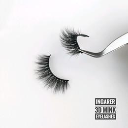 13e0846d3d4 Individual Eyelash Extensions Wholesale UK - Hand Made 3D Mink Eyelashes  15-20mm Natural Long