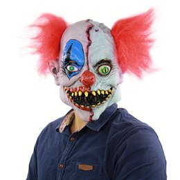 halloween terrorist mask Australia - New hot adult party latex mask Terrorist face clown mask Halloween party dress special horror