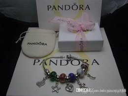 pandora fish Australia - HOT SALE 2018 925 Pandora High Grad Jewelry Women Bracelets have original boxes free shipping