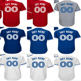 $enCountryForm.capitalKeyWord Australia - Cheap Customized Toronto Mens Kids Ladys Toddlers Baseball Personalized Stitched Adult Youth Any Name & NO. Flex Cool Base Jerseys XS-6XL