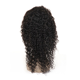 $enCountryForm.capitalKeyWord Australia - Human Hair Lace Front Wigs with Baby Hair Jerry Curly Brazilian Virgin Hair Lace Front Wig Pre Plucked Hairline Bleached Knots 180% Density