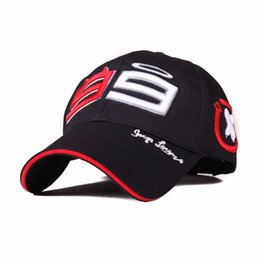 moto gp wholesale UK - Moto Gp 99 Jorge Lorenzo For Men Racing Cap Cotton Brand Motorcycle Racing Baseball Caps Hats & Caps Hats, Scarves & Gloves Car Sun Snapback