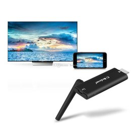 hdmi media player dongle NZ - MiraScreen B4 Smart Mini PC TV Stick Wireless 1080P Miracast Dongle TV HDMI 2.4GHz WiFi Media Player 128MB RAM Airplay DLNA