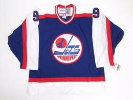 6e68bd4fb77 Cheap custom BOBBY HULL WINNIPEG JETS VINTAGE CCM HOCKEY JERSEY Mens  Personalized stitching jerseys