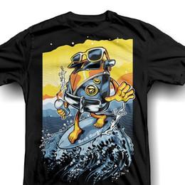 5647e2c35 Bus Surfing T-shirt 2019 new summer style streetwear cotton men's short  sleeve creative T-shirt tees