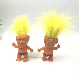 $enCountryForm.capitalKeyWord Australia - Donald Trump Action Figures Doll Baby Hand Play Funny Toys USA President Trump 2020 General Election Creative Model Decoration Toys A61305
