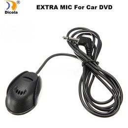 mic for car Australia - 50 Hz-20 kHz Professional 3.5mm Mic External Microphone for Car DVD Player Mic GPS for Bluetooth Handsfree Call
