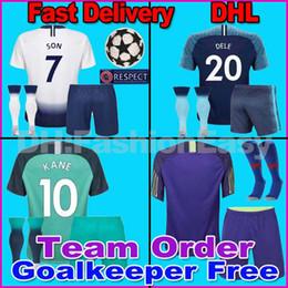 1075967b672 Football soccer goalkeeper online shopping - 18 spurs KANE SON soccer  jersys football kit shirt Champions