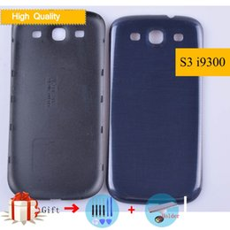 $enCountryForm.capitalKeyWord Australia - For Samsung Galaxy S3 i9300 S 3 III S3 9300 I9305 Housing Battery Cover Back Cover Case Rear Door Chassis Shell