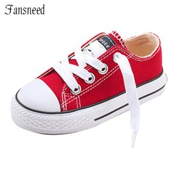 wide canvas shoes Australia - 2019 New Classic Children Canvas Shoes Girls Boys Candy Sneakers Tendon Sole Casual Shoes Solid Color Chaussures Garcon Enfant MX190727