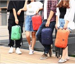 $enCountryForm.capitalKeyWord Australia - 2019 Real New Arrival Fashion School Backpack Backpacks For Women water Resistance Loptop Bag 160g Ultral-light Rucksack Nylon 7 Colors