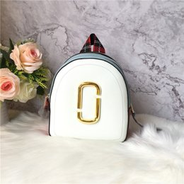 $enCountryForm.capitalKeyWord Australia - Elegant2019 Shoulders Both Spelling Double Color Zipper Will Capacity Light Camera Package Series Genuine Leather Backpack