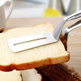 $enCountryForm.capitalKeyWord Australia - Barbecue Clip BBQ Tongs Stainless Steel Fried Shovel Bread Meat Vegetable Clamp Kitchen Gadget Cooking Tools C lp0395
