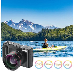 "point and shoot digital camera 2020 - Digital Camera Video Camcorder Full HD 1080P 24.0MP Camera With Wide Angle Lens And 32GB SD Card, 3.0"" ScreenWiFi F"