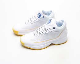 $enCountryForm.capitalKeyWord Australia - 2019 D Rose 10 YR White Blue Yellow Black Red Bounce Basketball Shoes High quality Derrick 10s Mens Sneakers Rose 10th Trainers Size40-46