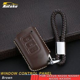 car key case protector NZ - For LEXUS RX200T 450H ES250 200 NX200T 300H car key cover case holder chain protector shell buckle high quality