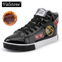 Valstone Men s Black high-top sneaker fashion hip-hop shoes silver street  shoes hot skateboard spring winter item optional b6db4b927b56