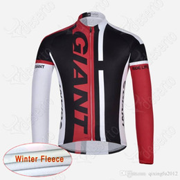 $enCountryForm.capitalKeyWord Australia - Cycling Winter Thermal Fleece jersey Pro Giant Long Sleeve Cycling Jersey bicycle sportwear cycle Clothing bike clothes sport jacket F603130