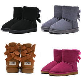 $enCountryForm.capitalKeyWord NZ - 2019 designer WGG Australia Classic kids shoes snow boots top Quality boy girl winter fashion Keep warm size ankle 26-35