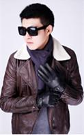 $enCountryForm.capitalKeyWord Australia - 2019 new style High quality brand leather gloves wholesale winter men's wear high-end fashion suede and plush warm brand gloves