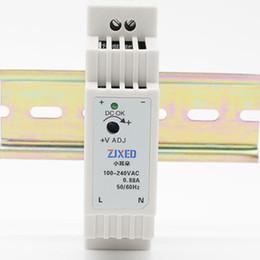 Sensör Meter için DC Güç Dönüştürücü DC Güç Tedarik 24V Çıkışı 15W 85-264VAC için DIN Ray AC