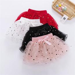$enCountryForm.capitalKeyWord Australia - INS Designs Little Girls Summer Leaf Embroidery Skirt Short Bow Tie Dance Skirt Baby Girls TUTU Skirts Princess Polka Dot Child Clothing