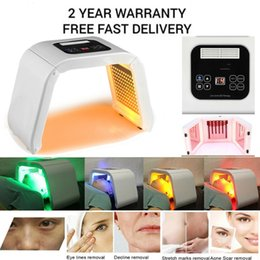 $enCountryForm.capitalKeyWord Australia - Professional PDT Led Facial Therapy Red Blue Green Yellow Light 4 Colors Led Face Mask PDT LED Skin Rejuvenation Acne Treatment