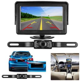 Car Lights Australia - HD Car Rear View Backup Camera of License Plate for Truck & RV with The Features of IP68 Waterproof High Brightness Light Sensor NightBackup