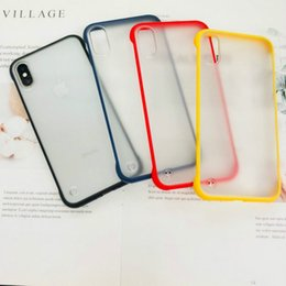 $enCountryForm.capitalKeyWord Australia - 2019 Fashion Clear Frameless Case Protector Cover For iphone 7 8 6 6s Plus X XR XS Max Hard PC Case