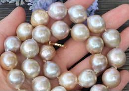Edison Chain Australia - FREE SHIPPING ++ > natural Purple Edison Nucleated Flameball Baroque Pearl Necklace