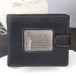 Handmade cowHide purses online shopping - 2019 Genuine Leather Men Wallet Short Vintage Handmade Crazy Horse Cowhide Male Small Card Holder Coin Purse With Pocket AA277ZO6