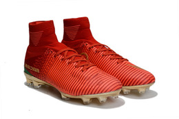 $enCountryForm.capitalKeyWord Australia - Original Red Gold Children Soccer Cleats Mercurial Superfly Cr7 Kids Soccer Shoes Outdoor Cristiano Ronaldo Womens Football Boots