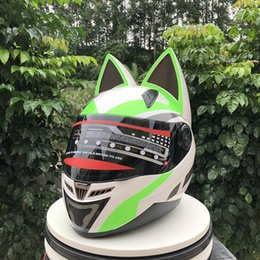 $enCountryForm.capitalKeyWord NZ - NITRINOS Brand New Arrival Full Face Motorcycle Helmet Lovely Cat Moto Helmet Motorbike casco moto modular Casque