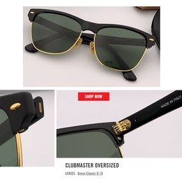 Wholesale newest top quality club master Sunglasses for Women Men Square Vintage Retro Sun Glasses Brand Designer Hombre Oculos De Sol Feminino