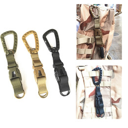 $enCountryForm.capitalKeyWord Australia - FIRECLUB Three-ring buckle Multi-function Combination Sports Bag Accessories Tactical Backpack Hook MOLLE System Hunting Device Tools