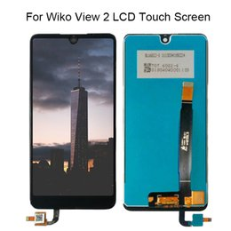 view glasses 2019 - Tested Well For Wiko View 2 LCD Display+Touch Screen 100% tested LCD Digitizer Glass Panel Replacement +Free Tools disco