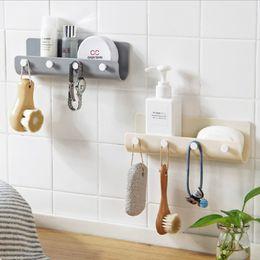 $enCountryForm.capitalKeyWord Australia - 2019 Creative Key Hanger Holder Storage Wall Hook Rack DIY Organizer Shelf Hanging Hooks Mount Rack Home Decor 3
