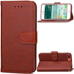 Card Inserts Australia - New Cell Phone Cases for iPhone 7 PLUS iPhone7 mobile phone bag sleeve creative insert card covers the cover Card Pocket