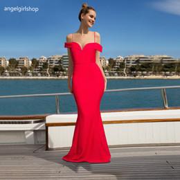 $enCountryForm.capitalKeyWord Australia - Sexy Formal Mermaid Prom Dresses 2019 Boat Neck Off Shoulder Long Arabic Dresses Party Evening Gowns Robes De Soirée