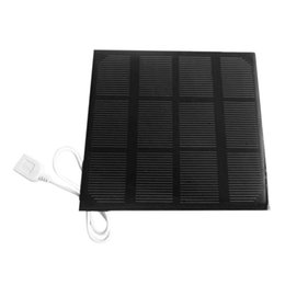 China Onleny 3W 6V USB Solar Panel Power Bank Mobile Phone MP3 MP4 External Battery Charger Portable Outdoor Travelling DIY Charger supplier power bank outdoors suppliers