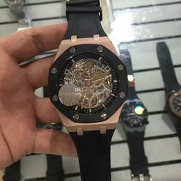 fold machine 2019 - AAA High-end luxury men automatic mechanical watch mens wrist watch, top - class automatic machine for carving.Men'
