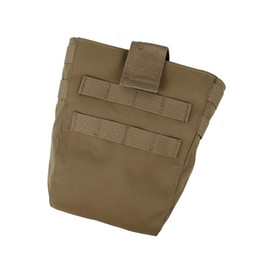 Discount magazine dump pouch - TMC TY Dump Pouch Magazine Drop Pouch MOLLE Sundries Recycling Bag Airsoft Hunting Gear 2839 #85672