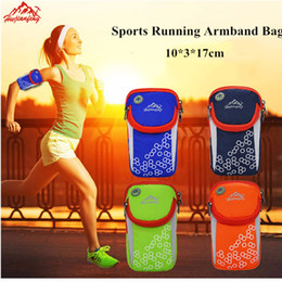 Outdoor Travel Arm Bags 2019 Fashion Sports Running Armband Bag Case Cover Running armband Universal Sport mobile phone Holder